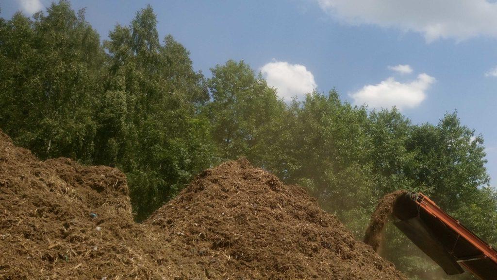 mielenie karpin galezi na biomase